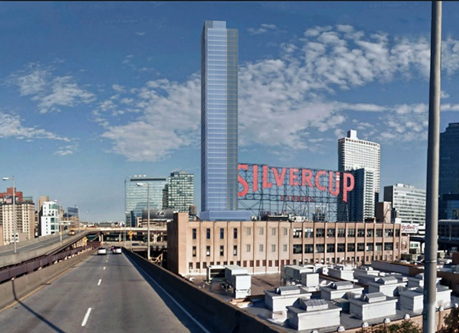 A rendering of 23-10 Queens Plaza South
