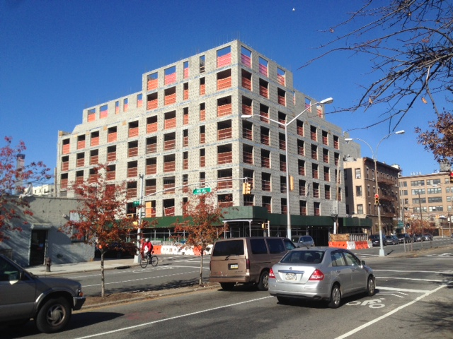 44-80 11th Street has reached the top floor