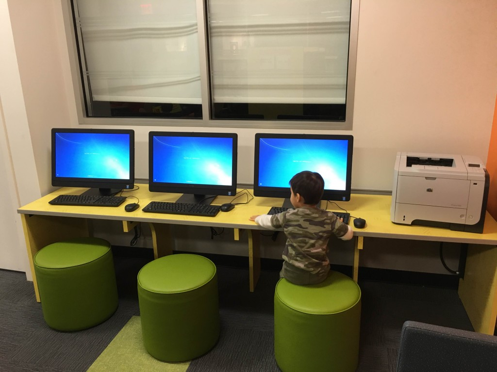 Child computer stations