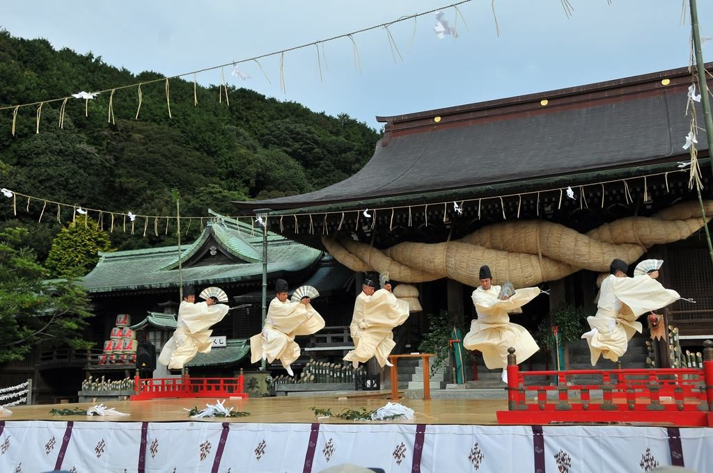 Shinto Dance Performance