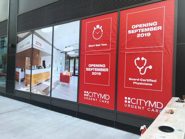 LIC CityMD Coming Soon Signage Photo